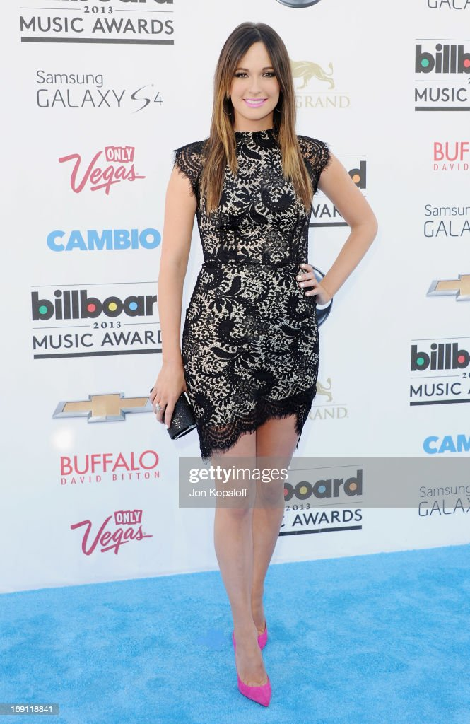 Singer Kacey Musgraves arrives at the 2013 Billboard Music Awards at MGM Grand Hotel & Casino on May 19, 2013 in Las Vegas, Nevada.