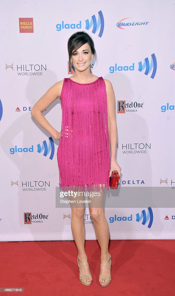 Singer <a gi-track='captionPersonalityLinkClicked' href=/galleries/search?phrase=Kacey+Musgraves&family=editorial&specificpeople=4103138 ng-click='$event.stopPropagation()'>Kacey Musgraves</a> attends the 25th Annual GLAAD Media Awards on May 3, 2014 in New York City.