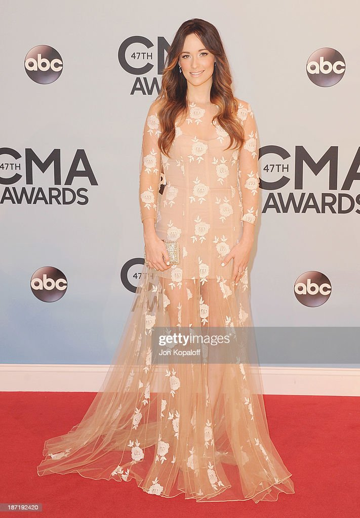 Singer Kacey Musgraves attends the 47th annual CMA Awards at the Bridgestone Arena on November 6, 2013 in Nashville, Tennessee.