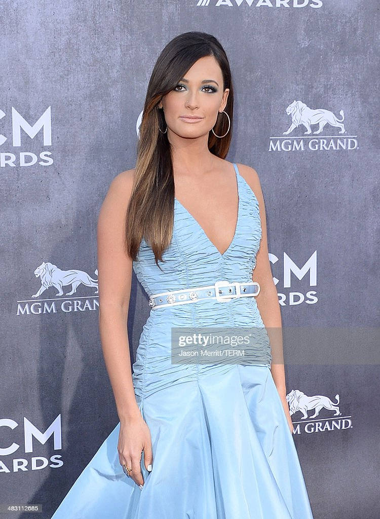 Singer Kacey Musgraves attends the 49th Annual Academy Of Country Music Awards at the MGM Grand Garden Arena on April 6, 2014 in Las Vegas, Nevada.
