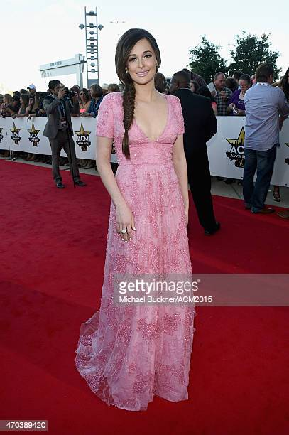 Singer Kacey Musgraves attends the 50th Academy Of Country Music Awards at ATT Stadium on April 19 2015 in Arlington Texas