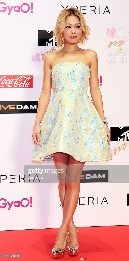 Singer Kana Nishino attends the MTV Video Music Awards Japan 2013 at Makuhari Messe on June 22, 2013 in Chiba, Japan.