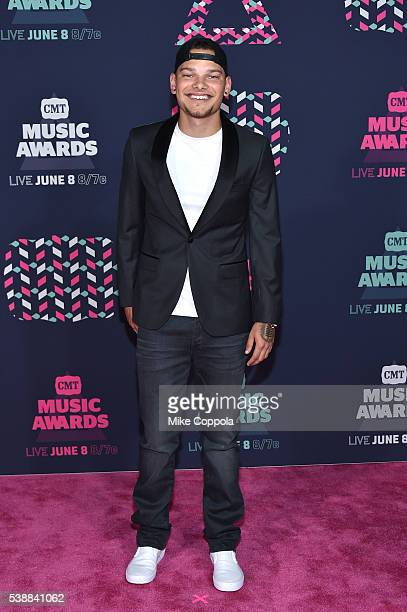 Singer Kane Brown attends the 2016 CMT Music awards at the Bridgestone Arena on June 8 2016 in Nashville Tennessee