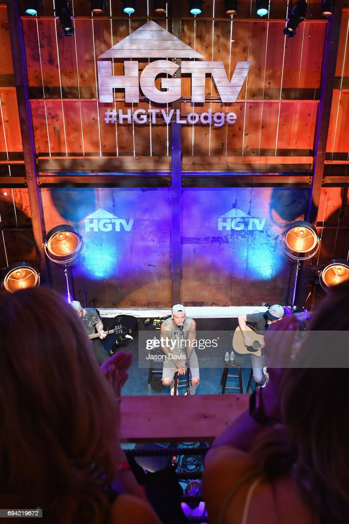 Singer Kane Brown performs onstage at the HGTV Lodge during CMA Music Fest on June 9, 2017 in Nashville, Tennessee.