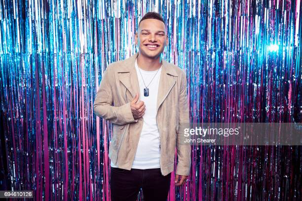 Singer Kane Brown poses for a portrait at Music City Convention Center on June 7 2017 in Nashville Tennessee