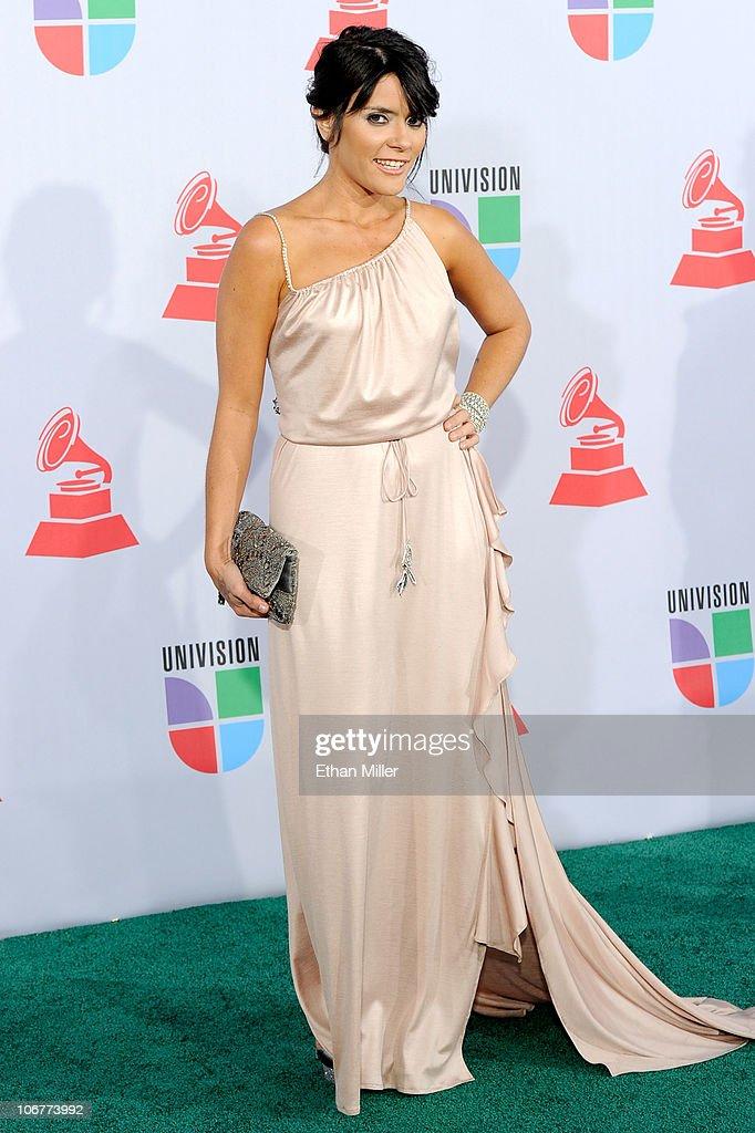 Singer Kany Garcia arrives at the 11th annual Latin GRAMMY Awards at the Mandalay Bay Resort & Casino on November 11, 2010 in Las Vegas, Nevada.
