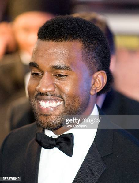 Singer Kanye West after performing at the Youth Inaugural Ball at the Washington Hilton in Washington DC President and Mrs Obama attended 10...