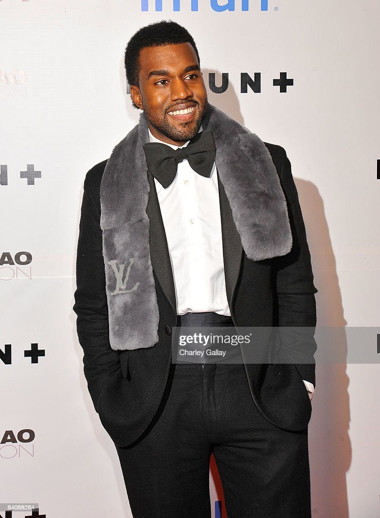 Singer Kanye West attends Flaunt Magazine's 10th Anniversary Party at a private residence on December 18 2008 in Los Angeles California