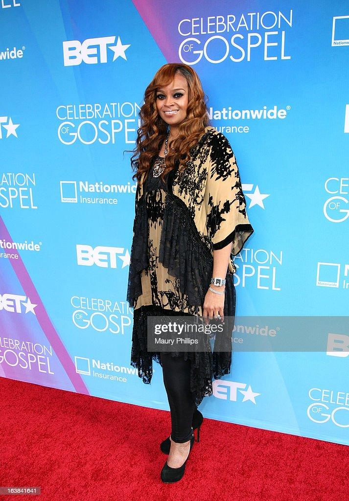 Singer Karen Clark Sheard attends the BET Celebration of Gospel 2013 at Orpheum Theatre on March 16, 2013 in Los Angeles, California.