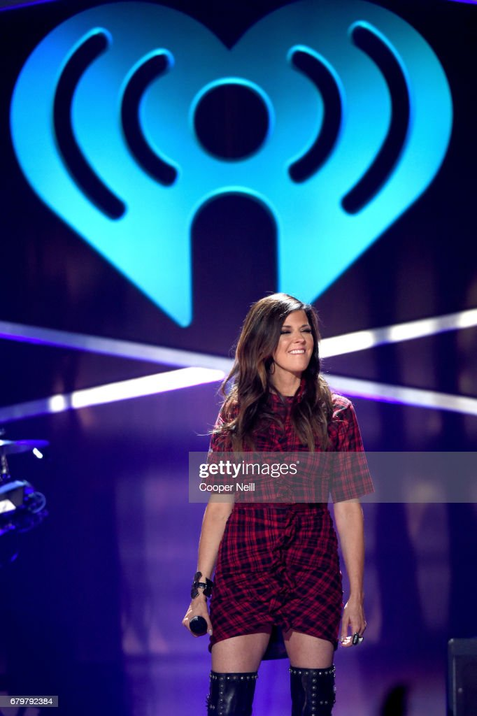 Singer Karen Fairchild of Little Big Town performs onstage during the 2017 iHeartCountry Festival, A Music Experience by AT&T at The Frank Erwin Center on May 6, 2017 in Austin, Texas.