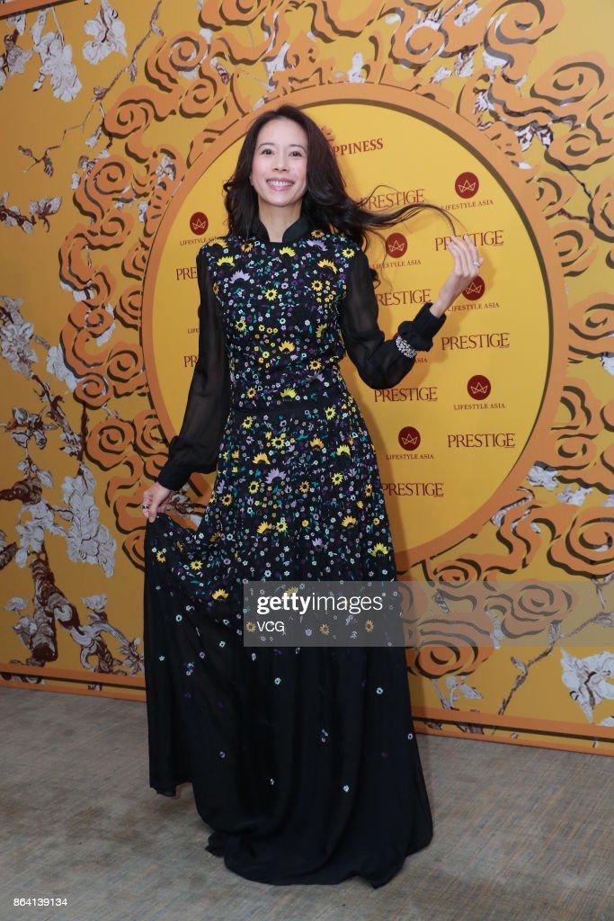 Karen Mok And Donnie Yen Attend Prestige Event In Hong Kong
