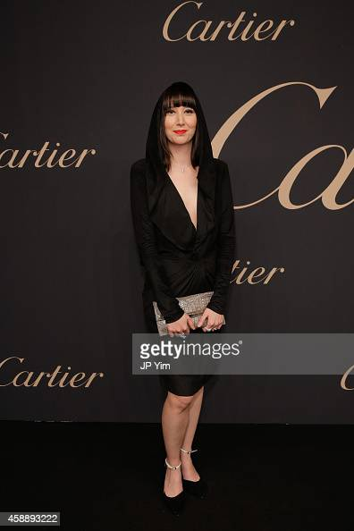 Singer Karen O attends The Maison Cartier Celebrates 100th Anniversary Of Their Emblem La Panthere De Cartier at Skylight Clarkson Sq on November 12...