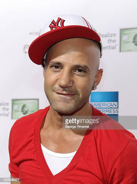 Singer Karl Wolf attends the AMEX Exclusive Gala Screening and Canadian Premiere of 'Twilight Saga Eclipse' at the Winter Garden Theatre on June 28...