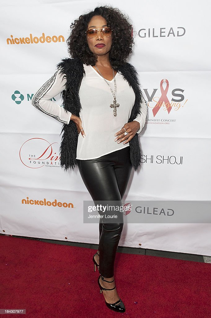 Singer Karyn White attends the 23rd Annual HIV/AIDS benefit concert DIVAS Simply Singing! at Club Nokia on October 12, 2013 in Los Angeles, California.