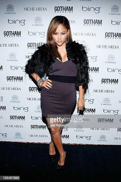 Singer Kat De Luna attends Mary J Blige Ed Westwick Amar'e Stoudemire host Niche Media's CEO Jason Binn's 10th Annual Gotham Gala at Capitale on...