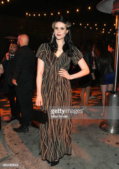 Singer Kate Nash attends the Pandora after party presented By StubHub at Create on January 26 2014 in Hollywood California