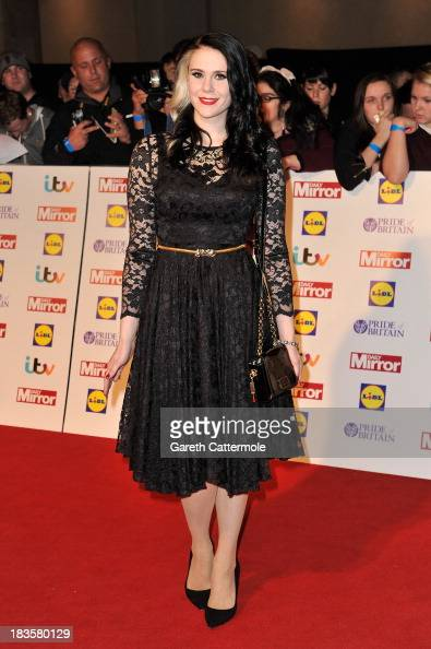 Singer Kate Nash attends the Pride of Britain awards at Grosvenor House on October 7 2013 in London England