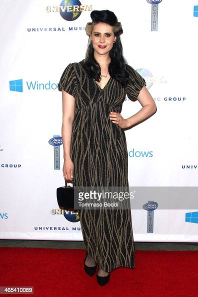 Singer Kate Nash attends the Universal Music Group 2014 post GRAMMY party held at The Ace Hotel Theater on January 26 2014 in Los Angeles California