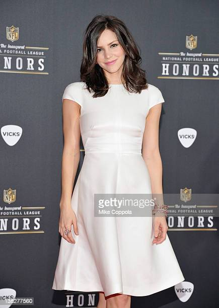 Singer Katharine McPhee attends NFL Honors And Pepsi Rookie Of The Year at Murat Theatre on February 4 2012 in Indianapolis Indiana