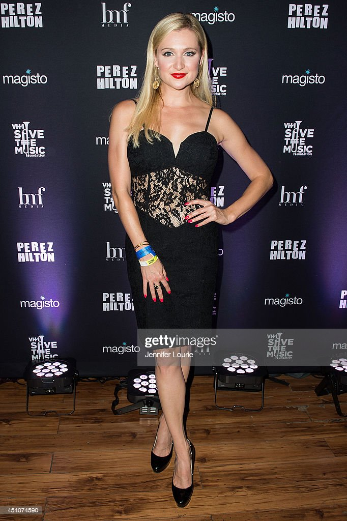 Singer Katherine Bailess arrives at 'One Night In Los Angeles' presented by Perez Hilton at The Troubadour on August 23, 2014 in Los Angeles, California.