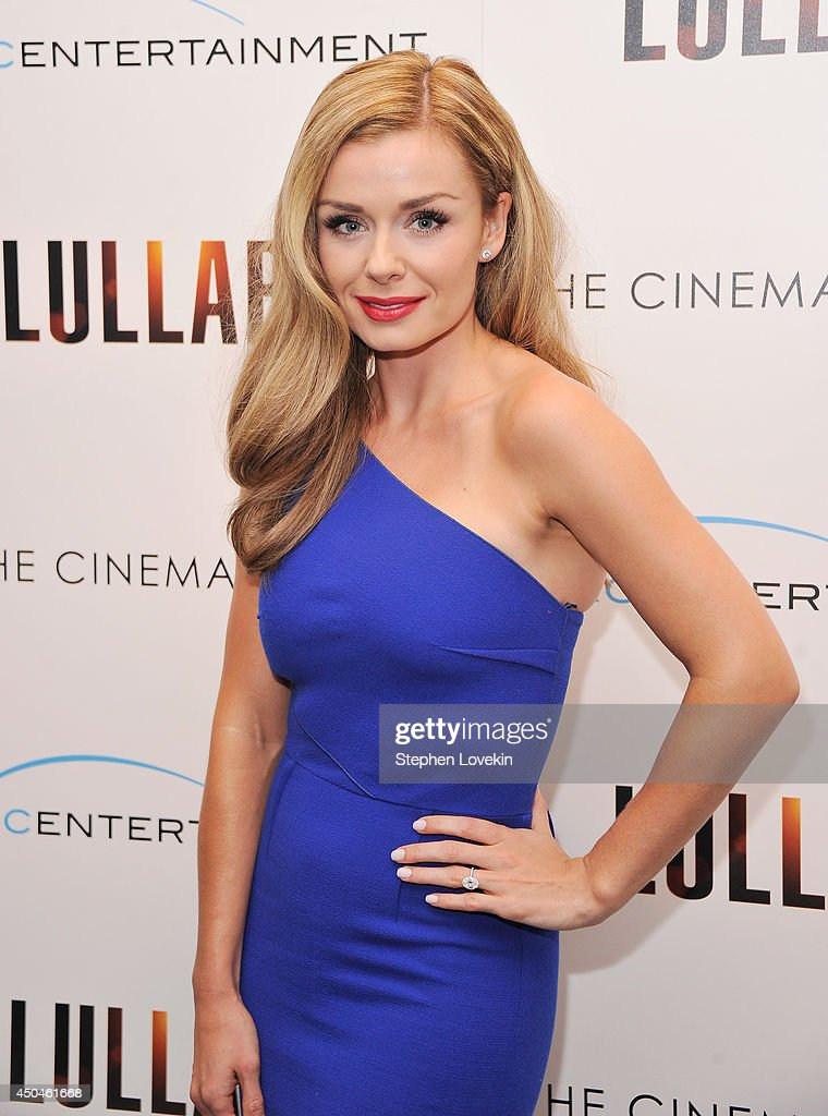 Singer <a gi-track='captionPersonalityLinkClicked' href=/galleries/search?phrase=Katherine+Jenkins&family=editorial&specificpeople=204776 ng-click='$event.stopPropagation()'>Katherine Jenkins</a> attends the Arc Entertainment & The Cinema Society screening of 'Lullaby' at Museum of Modern Art on June 11, 2014 in New York City.