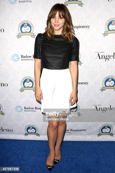 Singer Katherine McPhee attends the Barlow Respiratory Hospital's 4th Bernie Brillstein golf classic awards presentation held at the Wilshire Country...