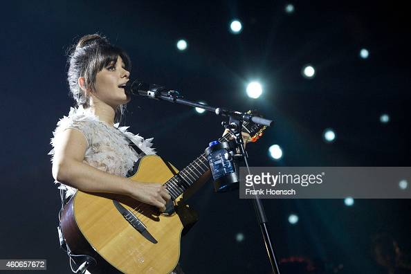 Singer Katie Melua performs live during the Night of the Proms 2014 at the O2 World on December 18 2014 in Berlin Germany