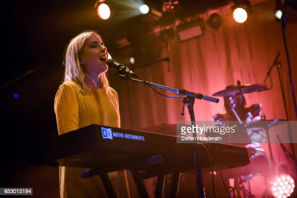 Singer Katie Stelmanis of Austra performs live on stage during a concert at Astra on March 13 2017 in Berlin Germany