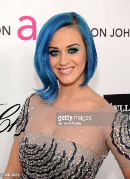 Singer Katy Perry arrives at the 20th Annual Elton John AIDS Foundation Academy Awards Viewing Party at The City of West Hollywood Park on February...