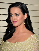 Singer Katy Perry arrives at the 55th Annual GRAMMY Awards PreGRAMMY Gala and Salute to Industry Icons honoring LA Reid held at The Beverly Hilton on...