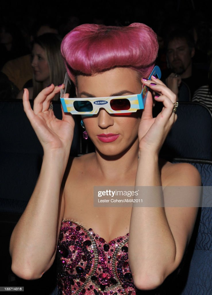 Singer <a gi-track='captionPersonalityLinkClicked' href=/galleries/search?phrase=Katy+Perry&family=editorial&specificpeople=599558 ng-click='$event.stopPropagation()'>Katy Perry</a> at the 2011 American Music Awards held at Nokia Theatre L.A. LIVE on November 20, 2011 in Los Angeles, California.