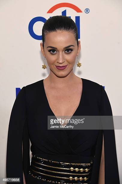 Singer Katy Perry attends Citi Presents Change Begins Within a David Lynch Foundation Benefit Concert on November 4 2015 in New York City