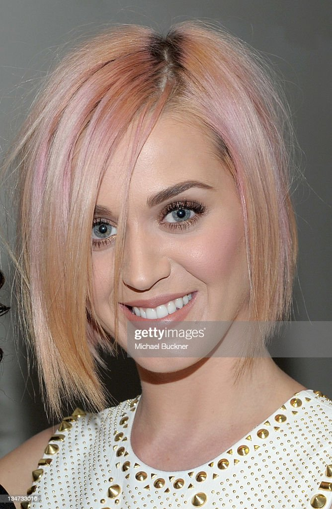Singer Katy Perry attends the 3rd Annual 'Change Begins Within' Benefit Celebration presented by The David Lynch Foundation held at LACMA on December 3, 2011 in Los Angeles, California.