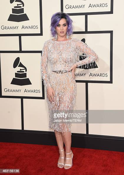 Singer Katy Perry attends The 57th Annual GRAMMY Awards at the STAPLES Center on February 8 2015 in Los Angeles California