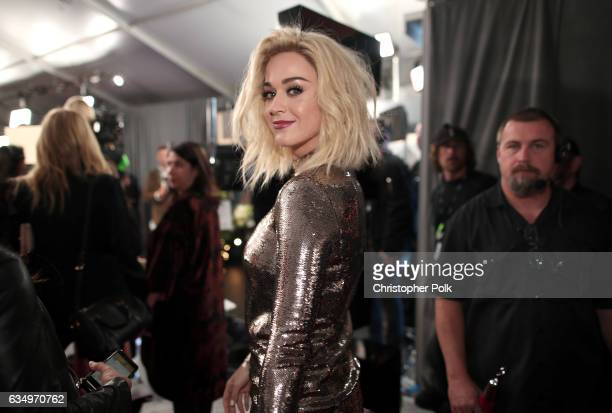 Singer Katy Perry attends The 59th GRAMMY Awards at STAPLES Center on February 12 2017 in Los Angeles California