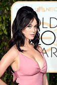 Singer Katy Perry attends the 73rd Annual Golden Globe Awards held at the Beverly Hilton Hotel on January 10 2016 in Beverly Hills California
