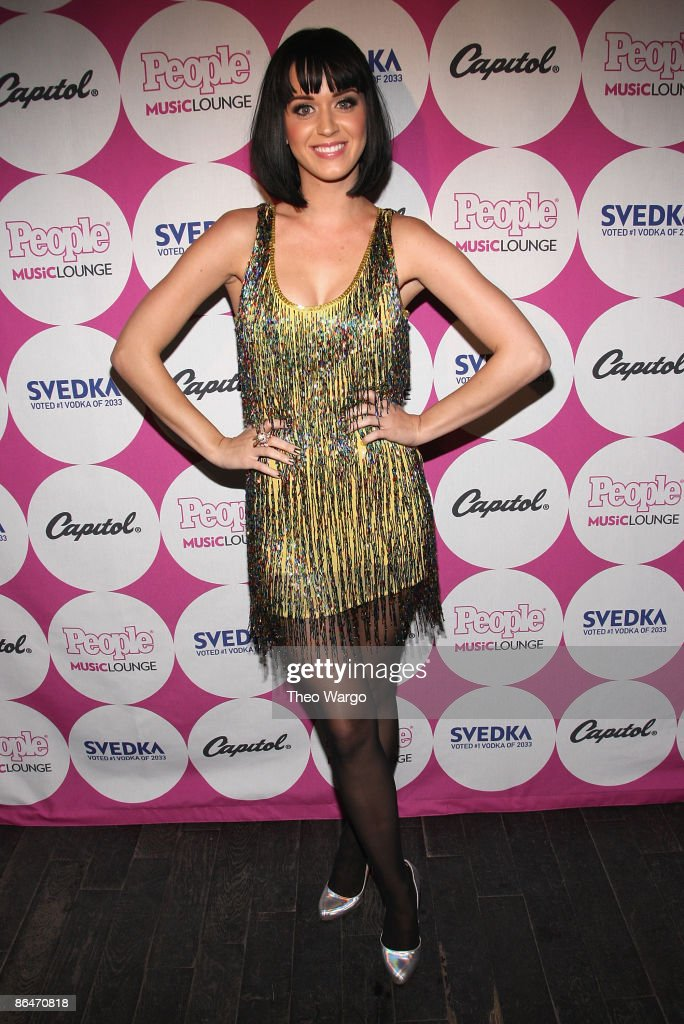 Singer <a gi-track='captionPersonalityLinkClicked' href=/galleries/search?phrase=Katy+Perry&family=editorial&specificpeople=599558 ng-click='$event.stopPropagation()'>Katy Perry</a> attends the PEOPLE Magazine/<a gi-track='captionPersonalityLinkClicked' href=/galleries/search?phrase=Katy+Perry&family=editorial&specificpeople=599558 ng-click='$event.stopPropagation()'>Katy Perry</a> party sponsored by Svedka at Mr. West May 6, 2009 in New York City.
