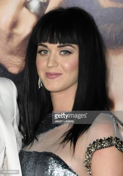 Singer Katy Perry attends the premiere of 'Get Him To The Greek' at The Greek Theatre on May 25 2010 in Los Angeles California