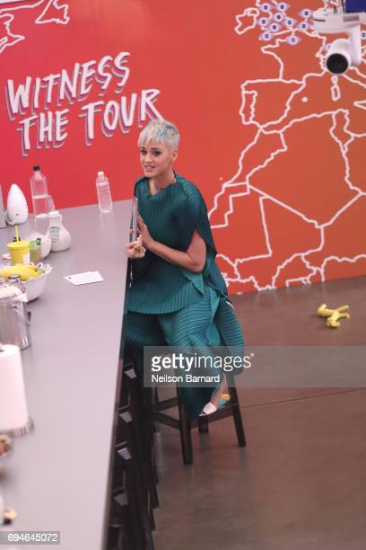 Singer Katy Perry hosts 'Katy Perry Witness World Wide' an exclusive event where fans around the world get a sneak peek into her new album Witness...