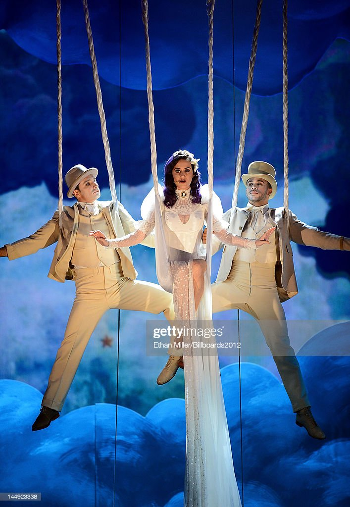 Singer <a gi-track='captionPersonalityLinkClicked' href=/galleries/search?phrase=Katy+Perry&family=editorial&specificpeople=599558 ng-click='$event.stopPropagation()'>Katy Perry</a> performs onstage at the 2012 Billboard Music Awards held at the MGM Grand Garden Arena on May 20, 2012 in Las Vegas, Nevada.