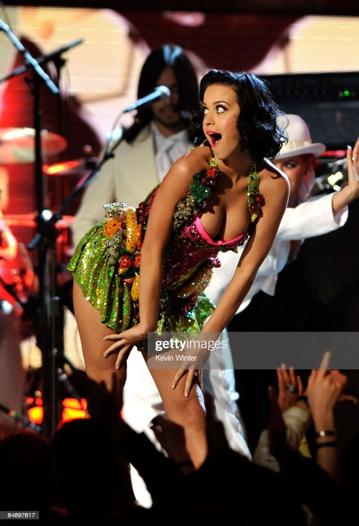 Singer Katy Perry speaks during the 51st Annual Grammy Awards held at the Staples Center on February 8 2009 in Los Angeles California