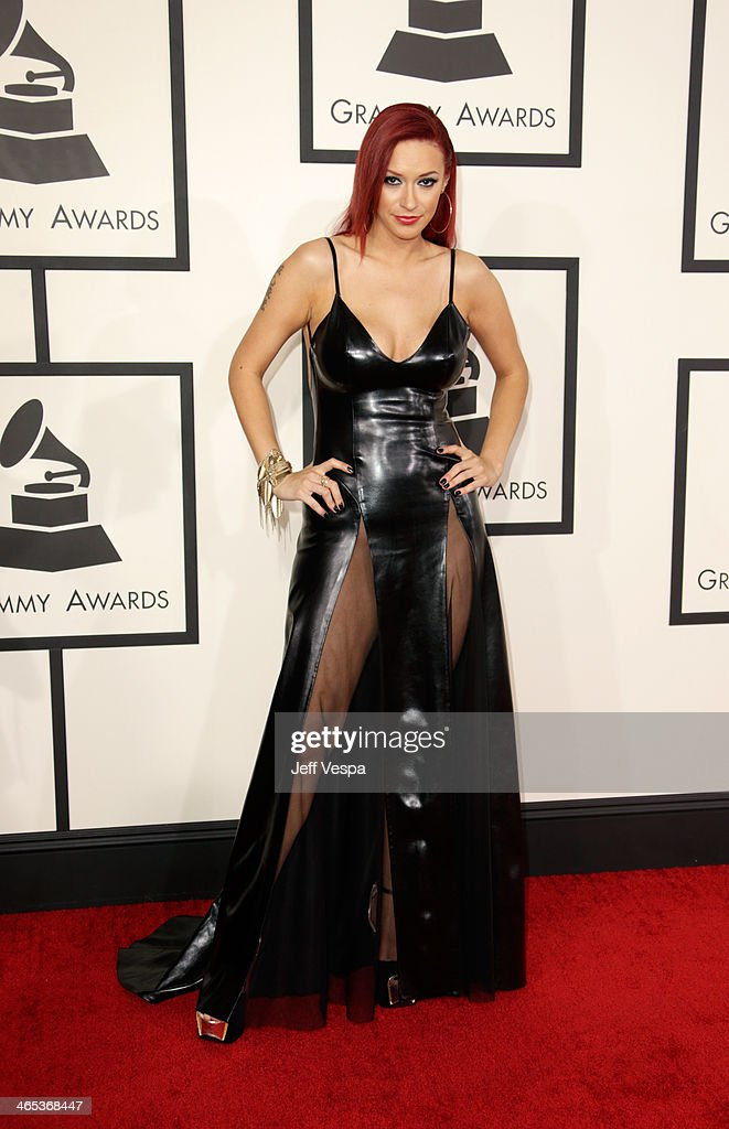 Singer Kaya Jones attends the 56th GRAMMY Awards at Staples Center on January 26, 2014 in Los Angeles, California.