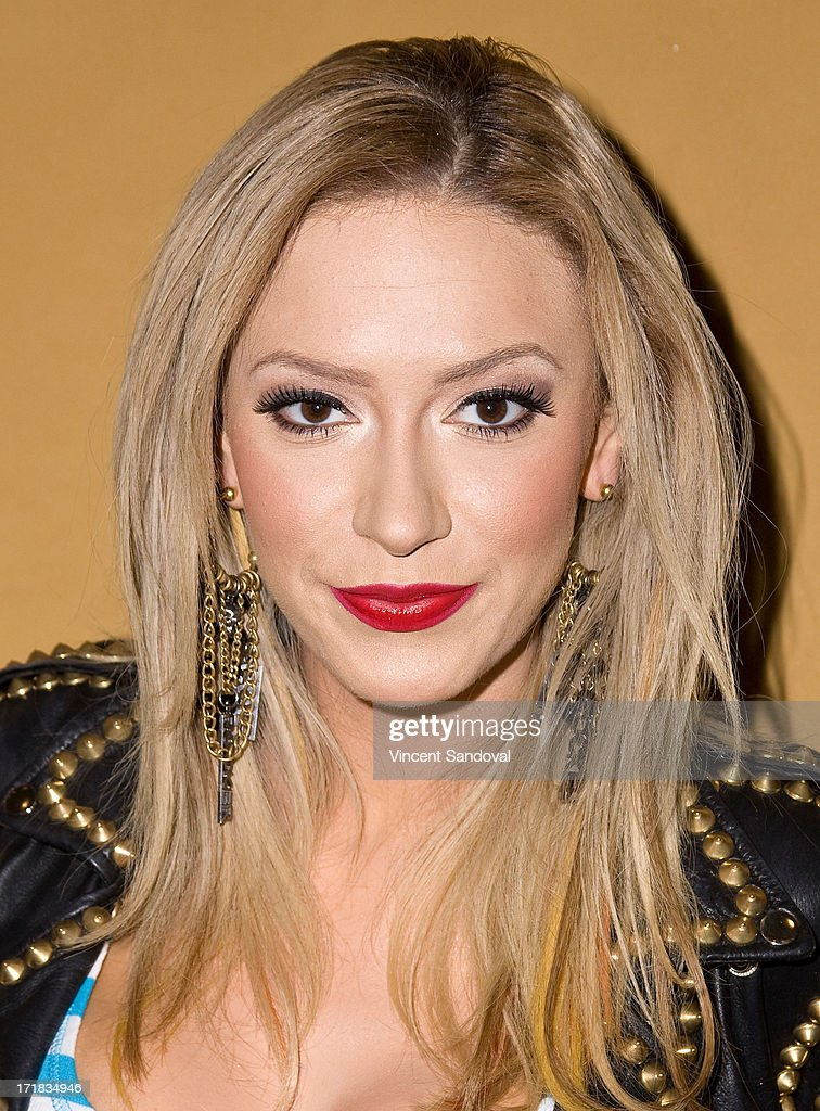 Singer <a gi-track='captionPersonalityLinkClicked' href=/galleries/search?phrase=Kaya+Jones&family=editorial&specificpeople=601338 ng-click='$event.stopPropagation()'>Kaya Jones</a> attends the Launch of her Hollywood Doll Boutique at the iconic Sweet! Hollywood Candy Store at Sweet! Hollywood Boutique on June 28, 2013 in Hollywood, California.