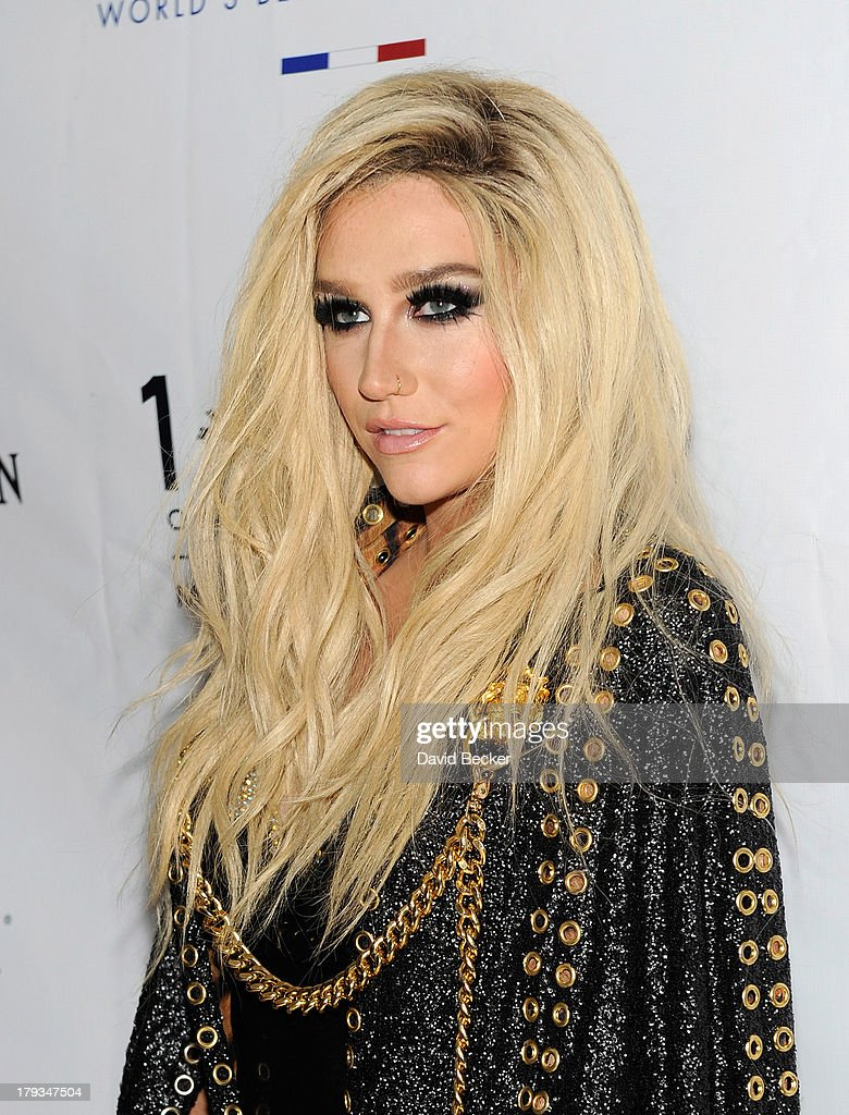 Singer <a gi-track='captionPersonalityLinkClicked' href=/galleries/search?phrase=Ke%24ha&family=editorial&specificpeople=6718222 ng-click='$event.stopPropagation()'>Ke$ha</a> arrives at 1 OAK Nightclub at The Mirage Hotel & Casino to perform at a Labor Day weekend party on September 1, 2013 in Las Vegas, Nevada.