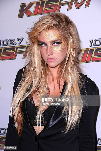 Singer Ke$ha arrives at KIIS FM's 2011 Wango Tango Concert at Staples Center on May 14 2011 in Los Angeles California