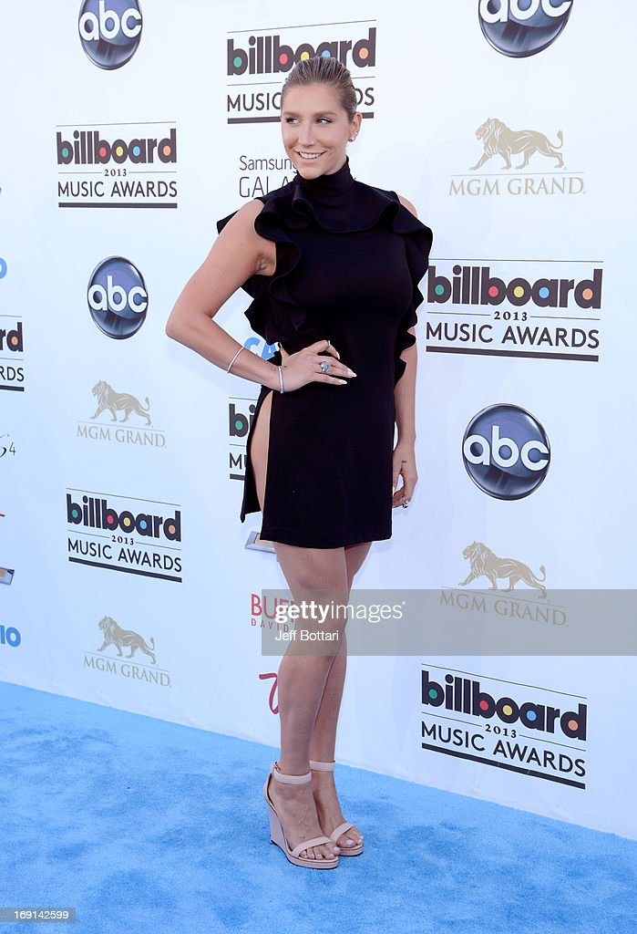 Singer Ke$ha arrives at the 2013 Billboard Music Awards at the MGM Grand Garden Arena on May 19, 2013 in Las Vegas, Nevada.