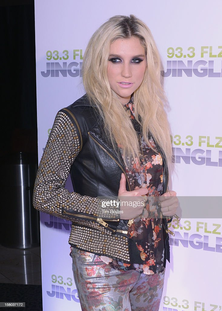 Singer Ke$ha attends 93.3 FLZ's Jingle Ball 2012 at Tampa Bay Times Forum on December 9, 2012 in Tampa, Florida.