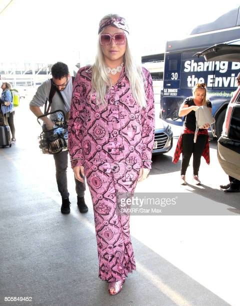 Singer Ke$ha is seen on July 2 2017 in Los Angeles California