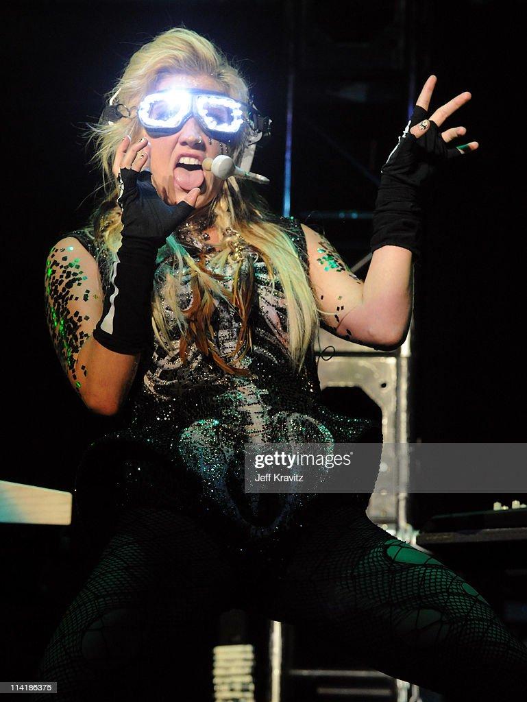 Singer Ke$ha performs at 102.7 KIIS FM's Wango Tango 2011 Concert at Staples Center on May 14, 2011 in Los Angeles, California.