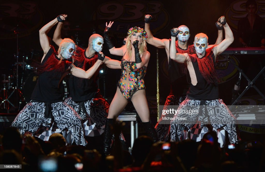 Singer Ke$ha performs onstage during 93.3 FLZ's Jingle Ball 2012 at Tampa Bay Times Forum on December 9, 2012 in Tampa, Florida.